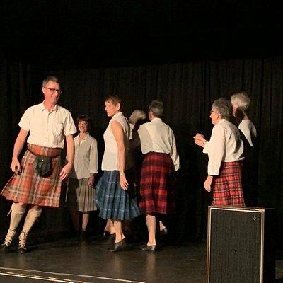 Scottish Country Dancing Club performing at Matariki Stars, July 2020