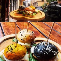 Delicious Burgers in 'Maspindzeli'❤💚    Insta: Maspindzeli-restaurant