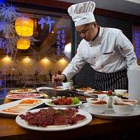 Зал линии ХОГО - уникальная возможность создать свой собственный кулинарный шедевр.