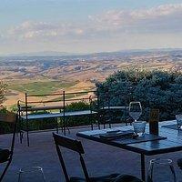 La Veranda Panoramica, un balcone sulla Val d'Orcia e le Crete Senesi!