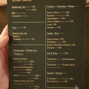 silent menu