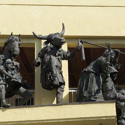 Фигуры фонтана