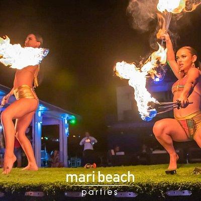 Mari Beach Parties Kavros Dramia Crete