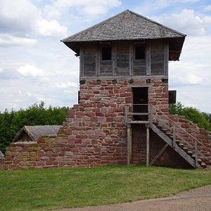 Gatehouse at Freilichtmuseum Königspfalz Tilleda