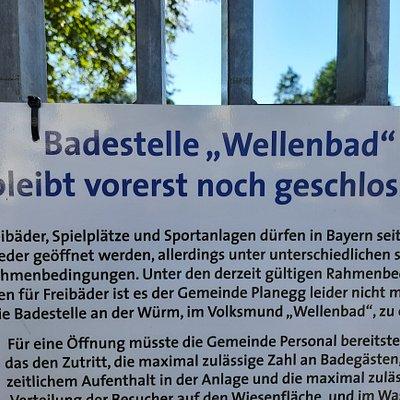 Wellenbad Planegg geschlossen