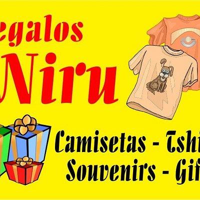 Regalos Niru, Souvenir Tenerife store, tienda de recuerdos y camisetas en Santa Cruz de Tenerife