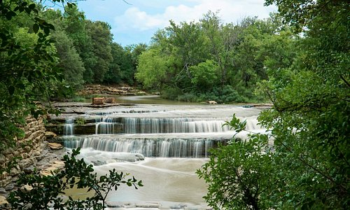 Discover Airfield Falls, the largest natural waterfall in Fort Worth.