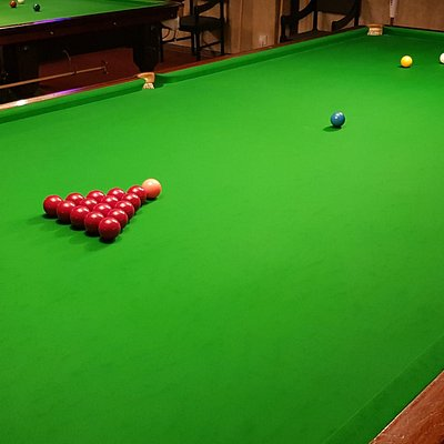 15 Full size snooker tables.