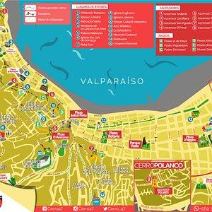 nuestro mapa de valparaiso
