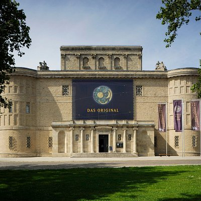 The State Museum of Prehistory in Halle (Saale) is home of the world-famous Nebra Sky Disc and ranks among the most renowned archaeological museums in Central Europe.