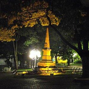 Obelisco - Homenagem ao centenário da independência do Brasil 1822 1922 faz parte da história da cidade de Limeira - foto Dinho Wiss