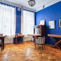 """Экспозиция """"Синий кабинет"""". фото: Иван Ерофеев"""