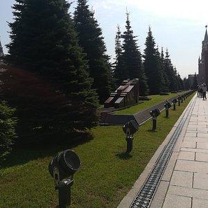Некрополь у Кремлёвской стены, Красная площадь, Москва.
