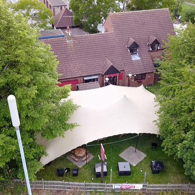 New for 2020 our Tented Area for All weather Dining and Drinking