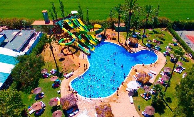 nuevos toboganes acuaticos - Devesa Gardens Camping & Resort Valencia Spain