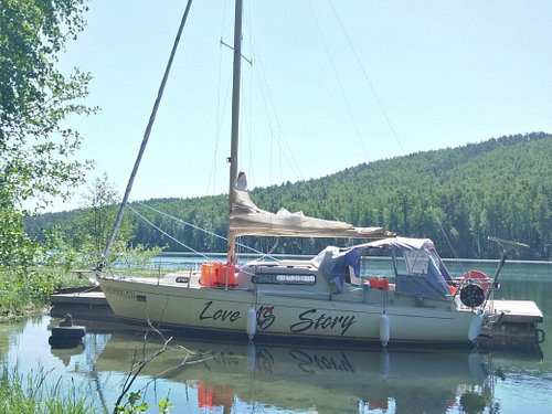 Прогулки под парусом по озеру Тургояк на яхте Love Story +79090799722