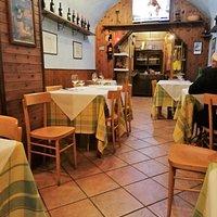 """interno ristorante """"Cinghiale"""""""
