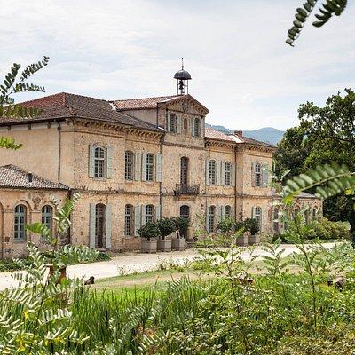 La façade nord du Château de la Rivoire