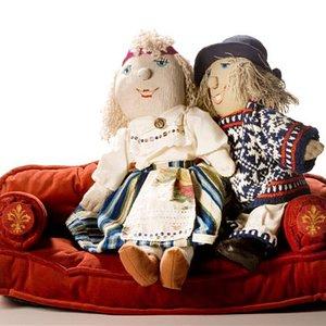 Estonian national dolls