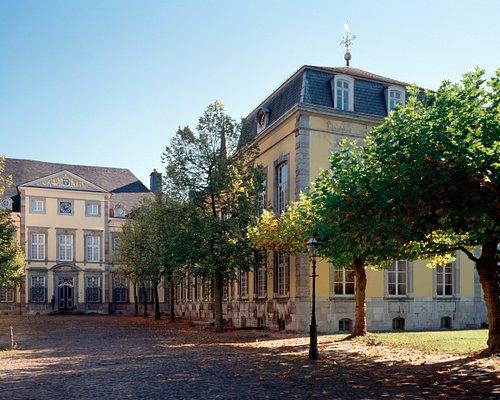 Kunsthaus NRW in der alten Reichsabtei in Kornelimünster (c) Foto Bildarchiv