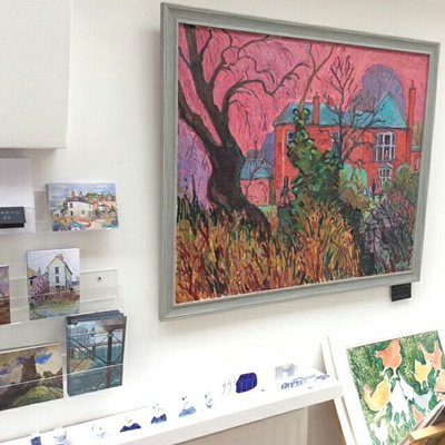 Some images of the wonderful artworks, paintings and ceramics on sale at this friendly art gallery. All the art is made here in the studios.