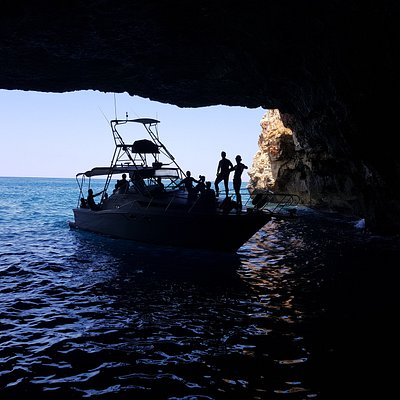 Into the cave with boat #kallisto