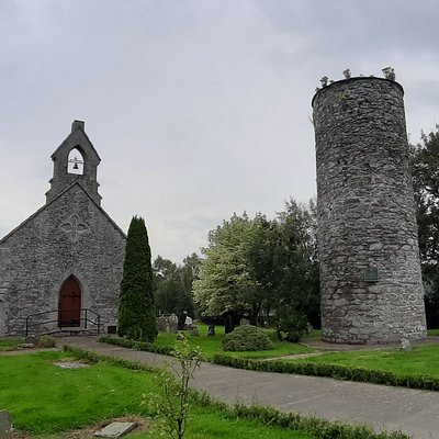 St. Daig's Monastery And Round Tower