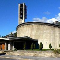Eglise Sainte-Croix à Sierre
