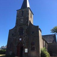 Kerkje in Saint-Benoît-des-Ondes Benoit