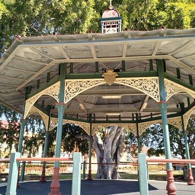 Band Rotunda and Fairy Fountain