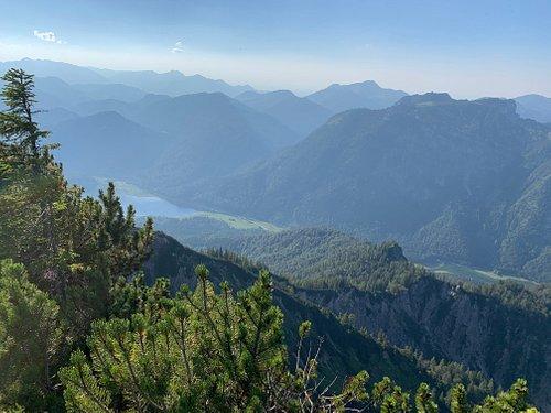 Blick vom Dürrnbachhorn auf den Weitsee