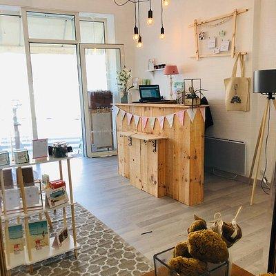 Intérieur du concept store JOLYS Boutique