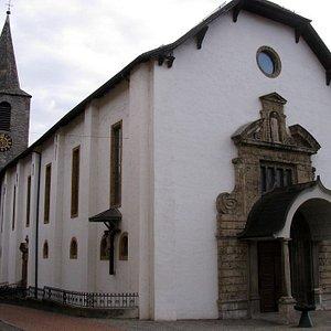 Eglise Sainte-Catherine (époque baroque) à Sierre