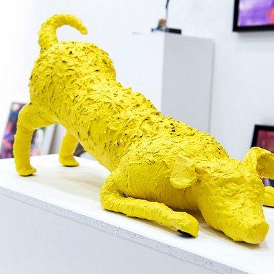 Yellow Dog  Rinda Meijer