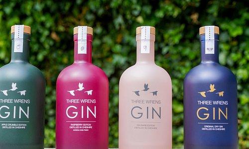 Our craft gin range
