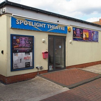 Spotlight Theatre from the outside.
