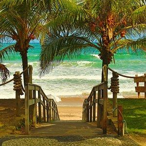 Caminho para praia