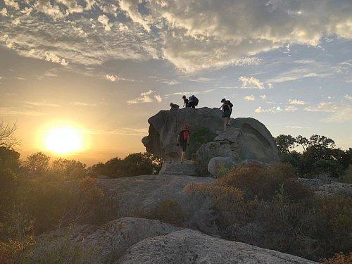 Figari's sunset