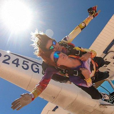 Skydive Fyrosity Las Vegas tandem skydiving