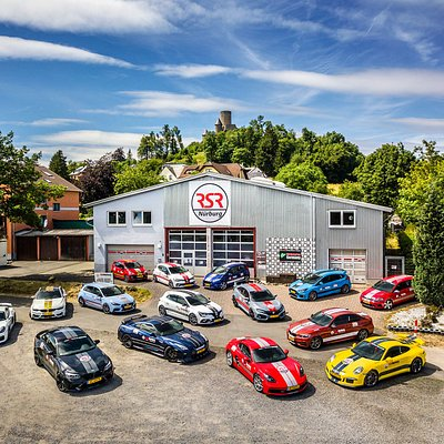 Some of the RSR Car fleet - available to rent from RSRNurburg at the Nürburgring