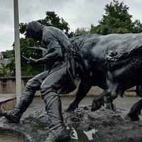 The Turning of the Bull Monument