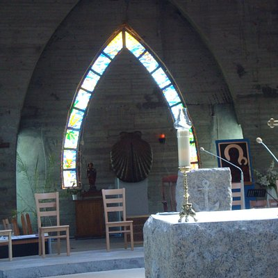 muszla Jakuba - tabernakulum