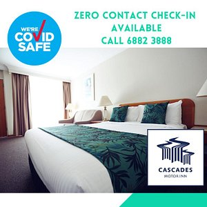 Zero Contact Check-in Available