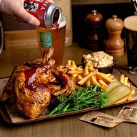 B&K Beer Can Chicken