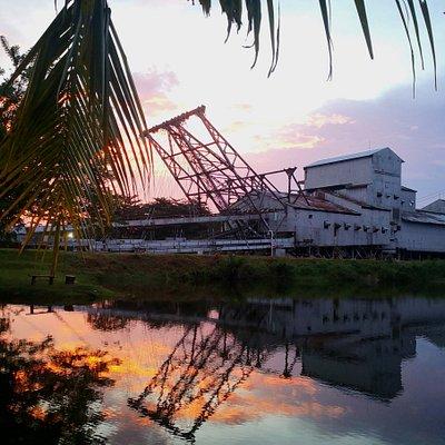 The last tin dredge in Malaysia.
