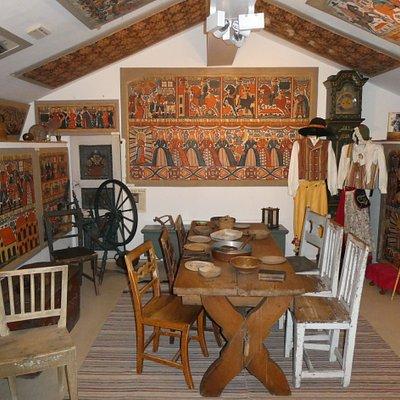 Bonadsmuseet i Unnaryds Hembygdspark i Unnaryd