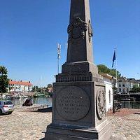 Monument voor de Nieuwe Haven