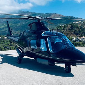 Agusta 109 Power en Helipuerto la Zagaleta (Marbella)