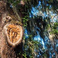 St. Simons Island Tree Spirit