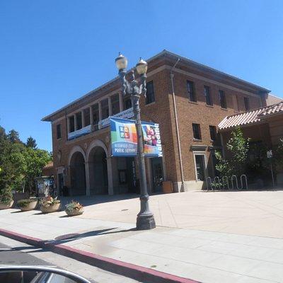 Redwood City Public Library, Redwood City, Ca